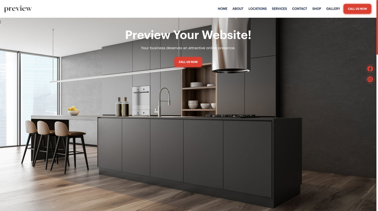 Get a website for your carpenter, cabinetry and other woodworking business in 15 minutes or less, other tools include website, appointment system, online estimates, email marketing and SMS messaging