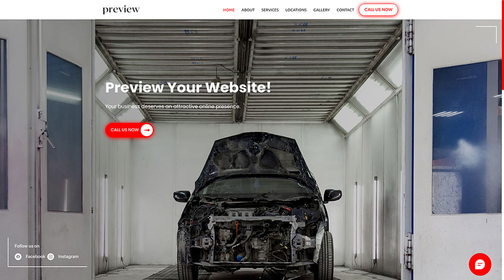 Get a website, payment solution, appointment system and more for mechanics, detailers, window tinters, bodyshops, collision specialists and more