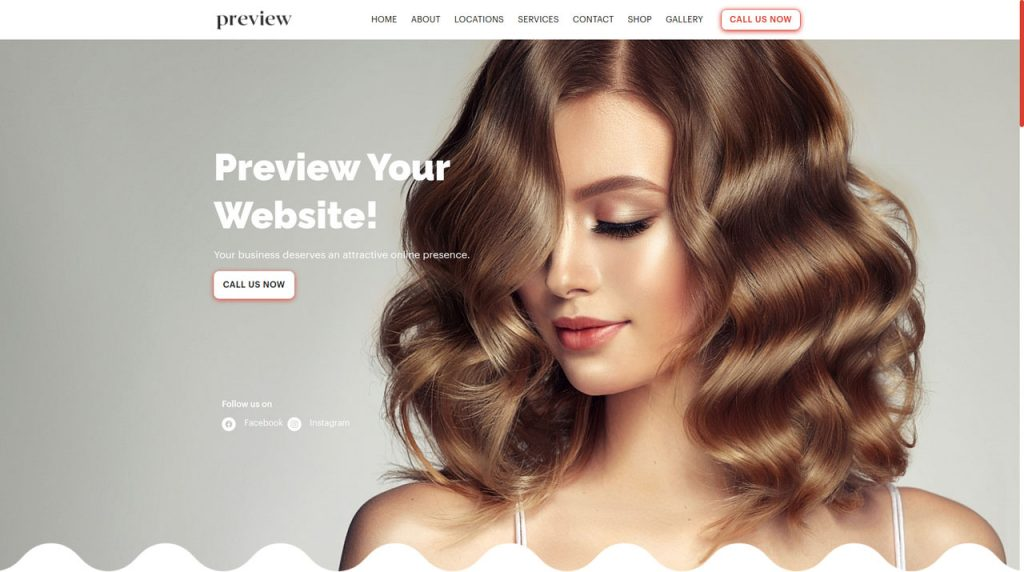 Get the website, appointment system, email marketing, payment solution, crm and customer management your hair salon needs for success