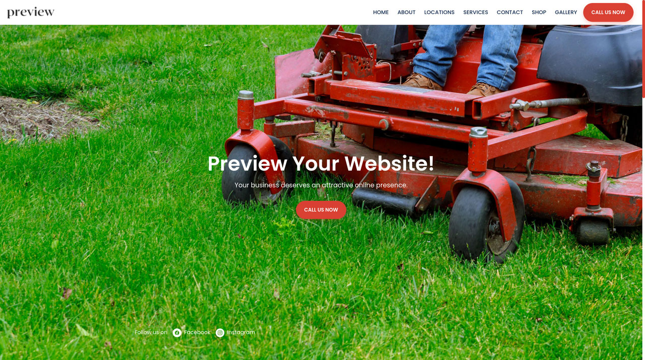 Showcase your beautiful landscaping work with a website and other tools such as appointment system, website, online estimates, customer feedback, CRM and more