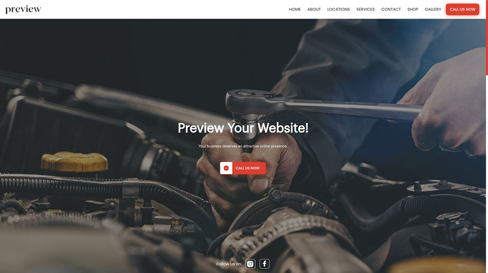 Mechanics and automotive service providers can benefit from a website, appointment system, estimate system, automated email marketing and other tools that Wurkzen has to offer