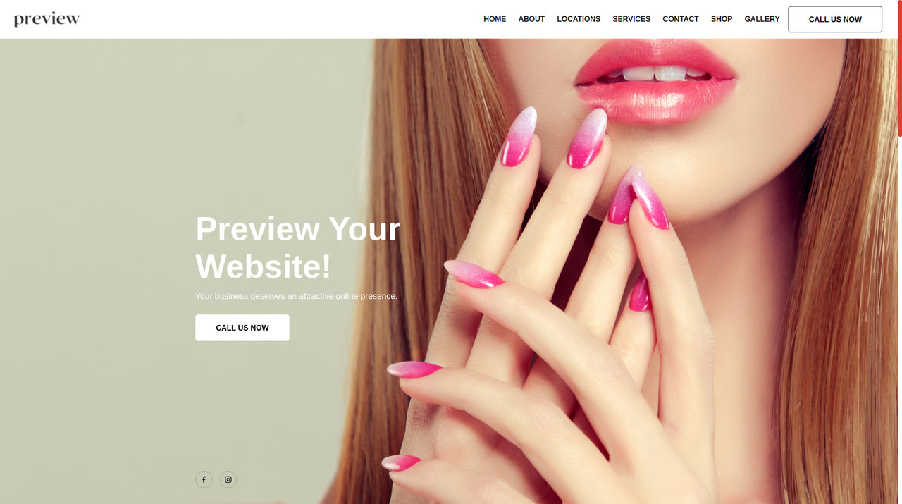 Your nail salon deserves a website, appointment system, email marketing, CRM and customer insights that will help your nail salon or spa run better