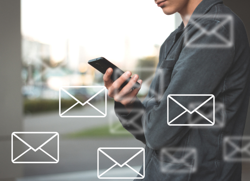 Setup email marketing campaigns for your services by simply clicking a button and selecting a few options
