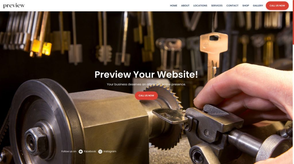 Locksmith Websites, Appointment Tools, Payment Solutions and More
