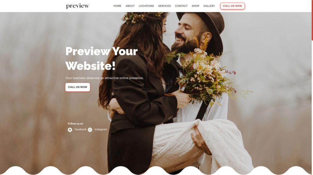A professional website, appointment system and email marketing solutions for Photographers and Videographers